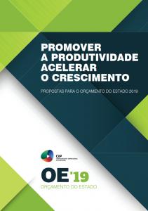 2018. Propostas OE2019: Promover a Produtividade, Acelerar o Crescimento