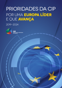 2019. Prioridades da CIP: Por uma Europa Líder e que Avança